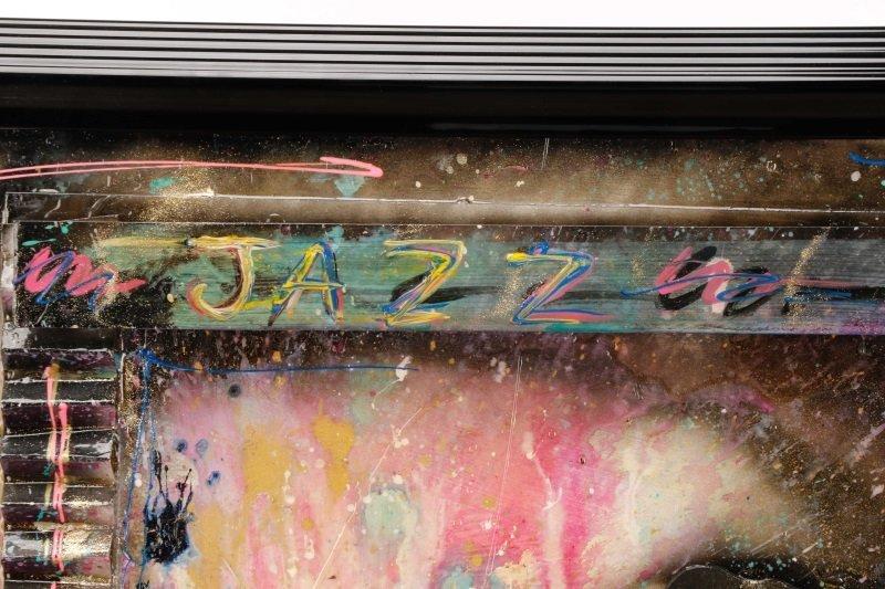 C. Washington 3-D Mixed Media Work, Jazz Musician - 4