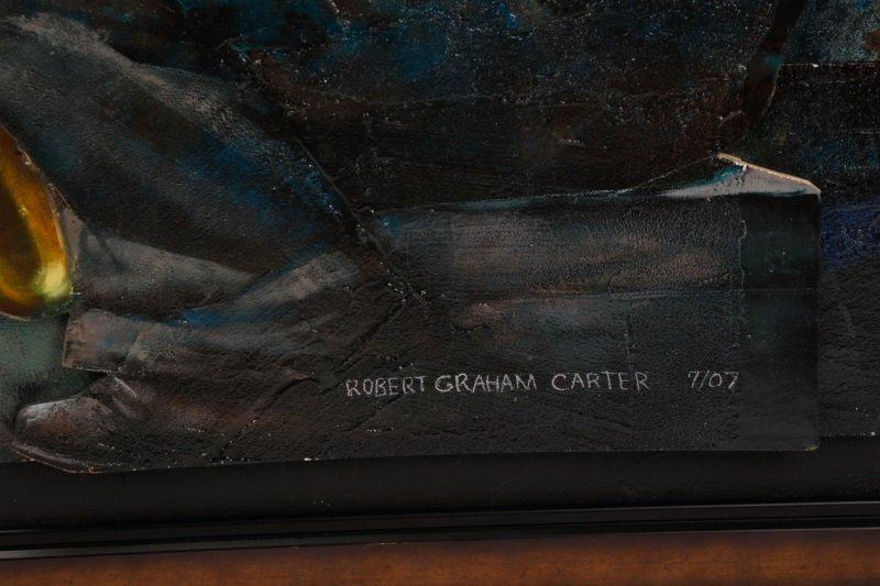 """Robert Graham Carter, """"Grandfather With Sax"""", 2007 - 2"""