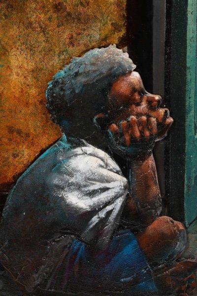 """Robert Graham Carter, """"Grandfather With Sax"""", 2007 - 3"""