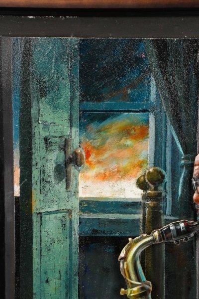 """Robert Graham Carter, """"Grandfather With Sax"""", 2007 - 5"""