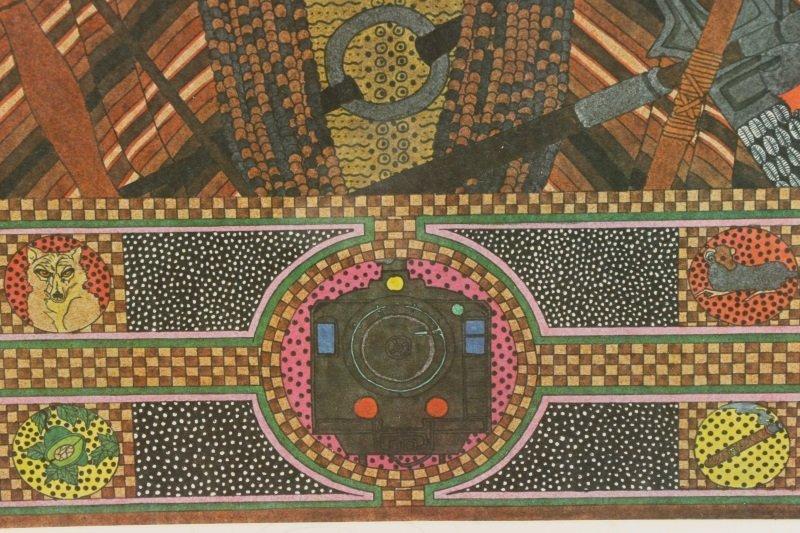 """Alberto del Pozo, """"Ogun"""", Lithograph, 1980 - 5"""