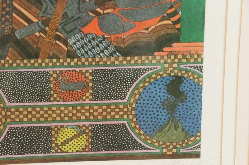 """Alberto del Pozo, """"Ogun"""", Lithograph, 1980 - 6"""