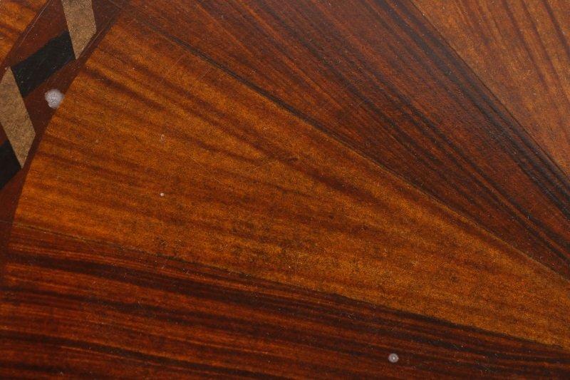 Mahogany & Parcel Gilt Decorated Tripod Table - 5