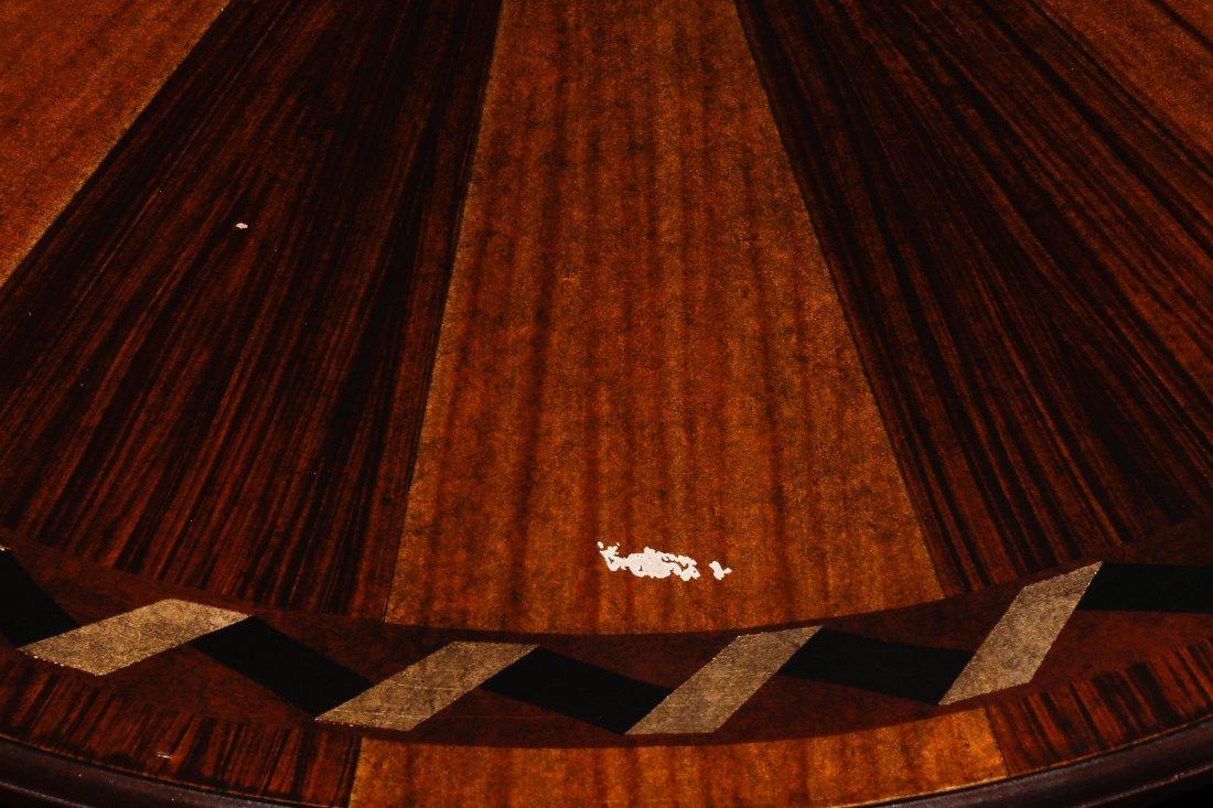 Mahogany & Parcel Gilt Decorated Tripod Table - 9