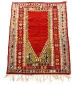 Hand Woven Kazak Prayer Rug
