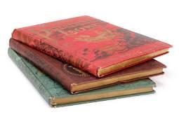 3 Milton  Alighieri Books c1900 w Gustave Dore