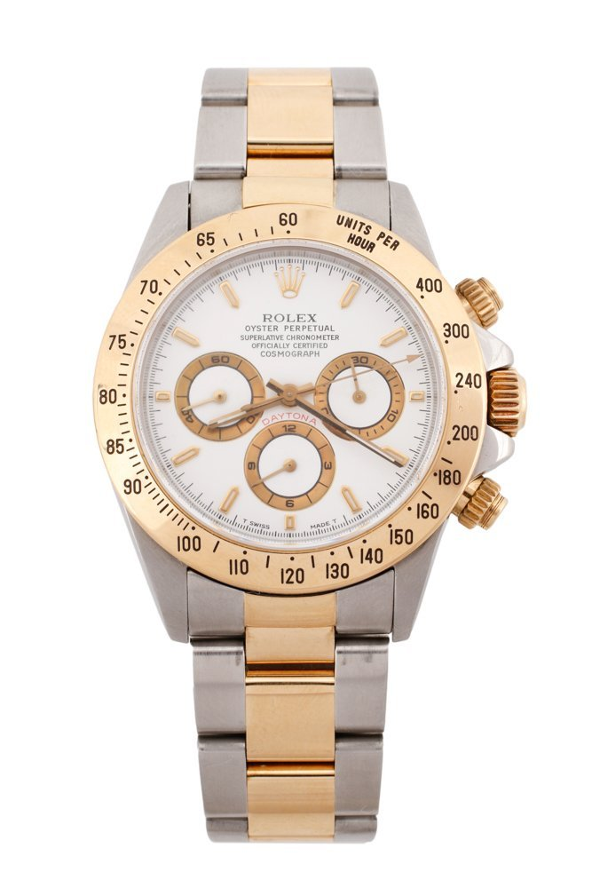 "Men's Rolex ""Daytona"" Two Tone Watch"