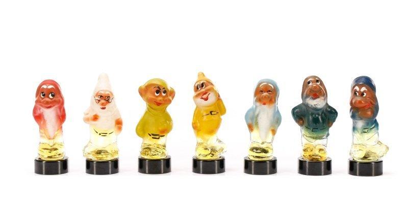 "Set of 7 Russian ""Seven Dwarfs"" Perfumes"