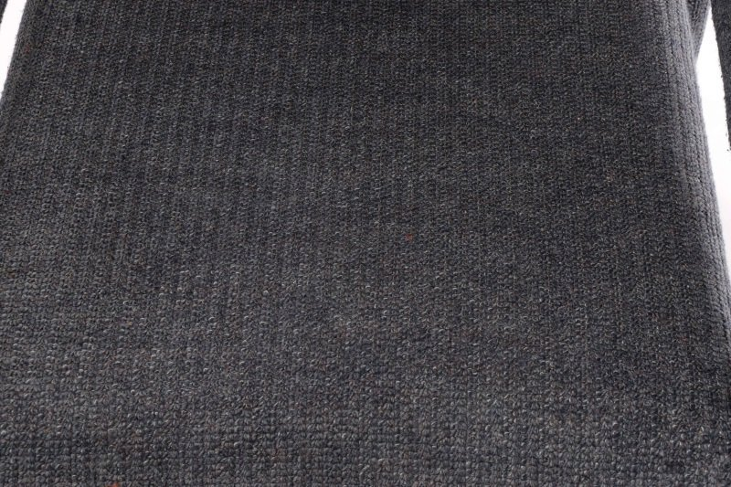 Pair Happy Viking Blue Tweed Upholstered Armchairs - 5