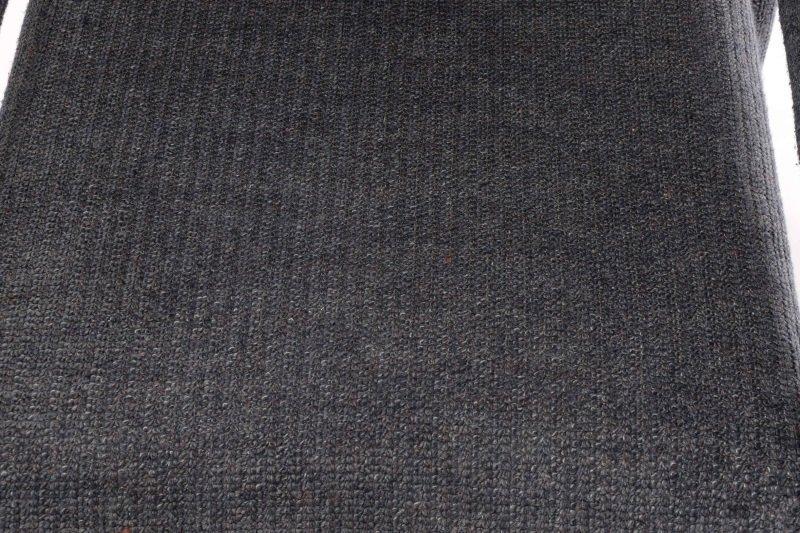 Pair Happy Viking Blue Tweed Upholstered Armchairs - 5