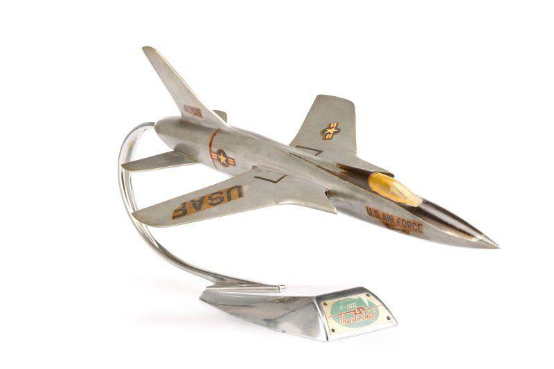 Republic F-105B Thunderchief Model by Topping