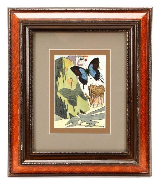 """After Salvador Dalí, """"Le Tricorne #15"""", Woodcut"""