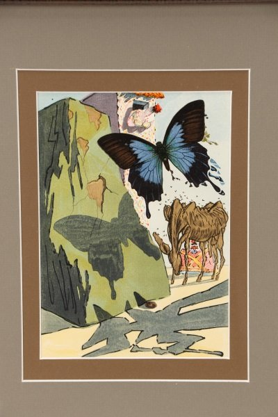 """After Salvador Dalí, """"Le Tricorne #15"""", Woodcut - 2"""
