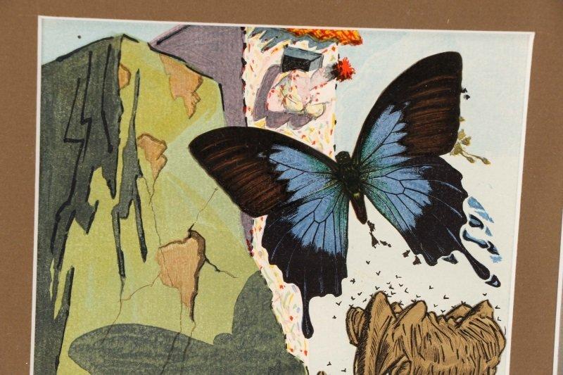 """After Salvador Dalí, """"Le Tricorne #15"""", Woodcut - 3"""