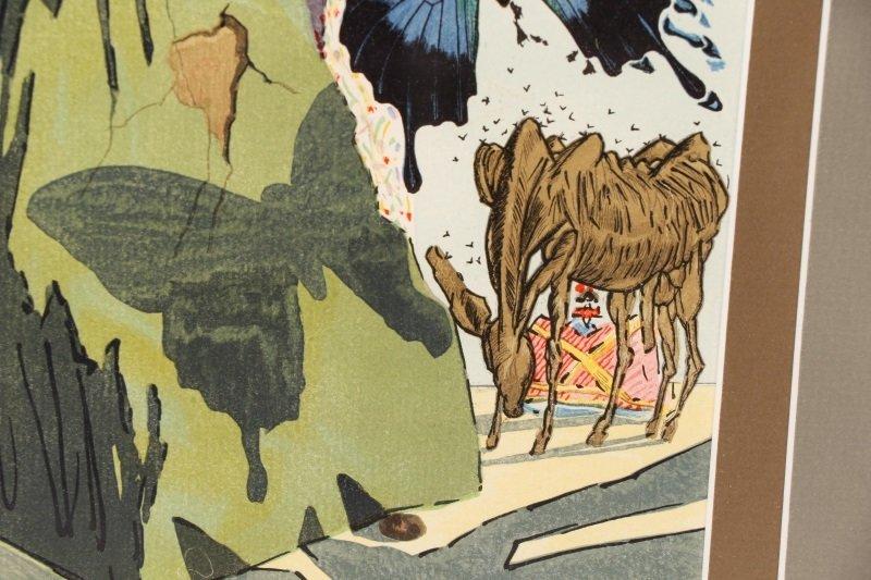 """After Salvador Dalí, """"Le Tricorne #15"""", Woodcut - 4"""