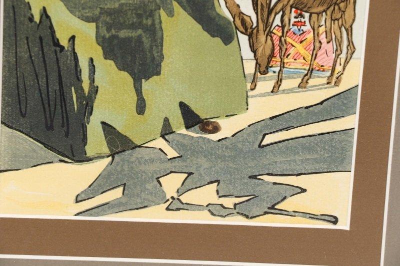 """After Salvador Dalí, """"Le Tricorne #15"""", Woodcut - 5"""