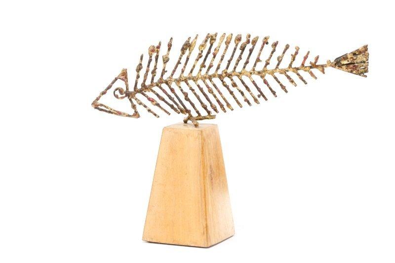 "Marcello Fantoni, ""Untitled (Fish)"", Steel"