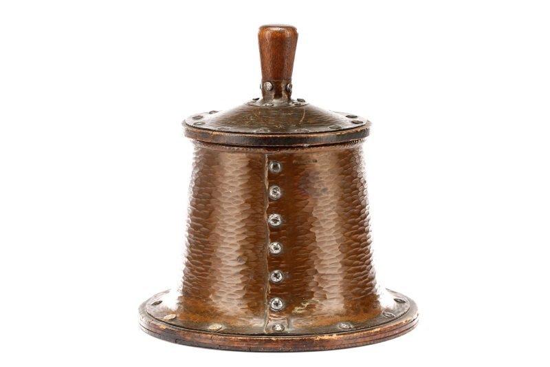Joseph Heinrichs Arts & Crafts Copper Humidor - 5
