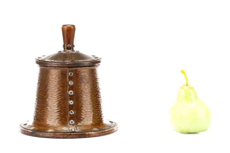 Joseph Heinrichs Arts & Crafts Copper Humidor - 9