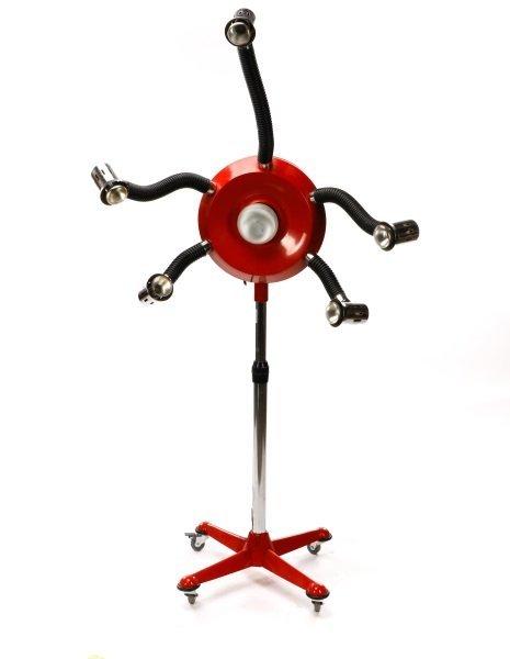 Framesi Hair Dryer Converted to Floor Lamp