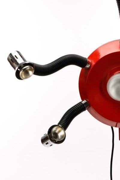Framesi Hair Dryer Converted to Floor Lamp - 2