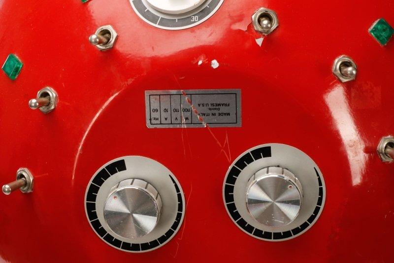 Framesi Hair Dryer Converted to Floor Lamp - 6