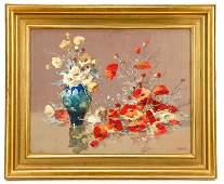 "Francis Vreeland, ""Still Life with Poppies"""