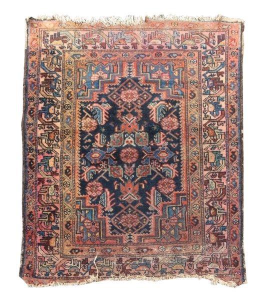 Hand Woven Persian Tribal Throw Rug