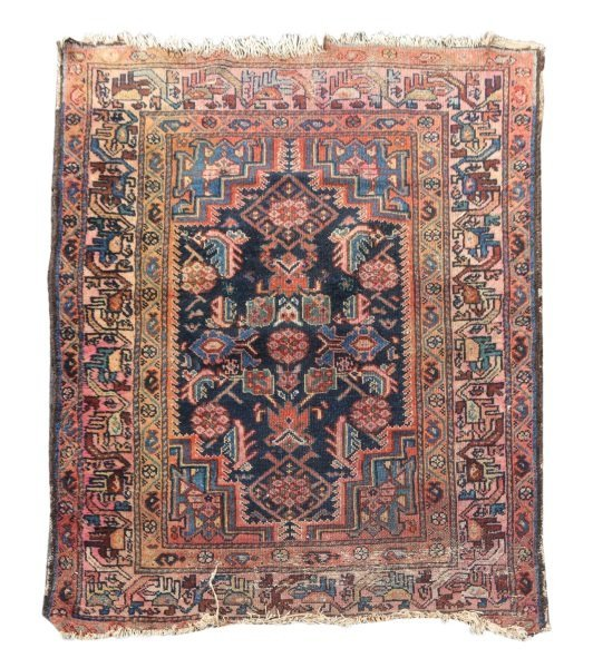 Hand Woven Persian Tribal Throw Rug