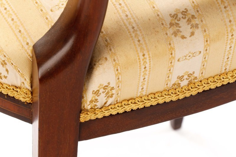 Pair, Period Signed Hepplewhite Style Side Chairs - 8