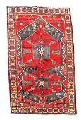 Hand Woven Persian Hamadan Rug 6 4 x 9 9