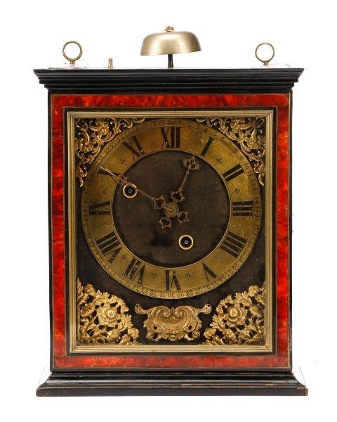 Claude Raillard Striking Religieuse Clock, 17th C.
