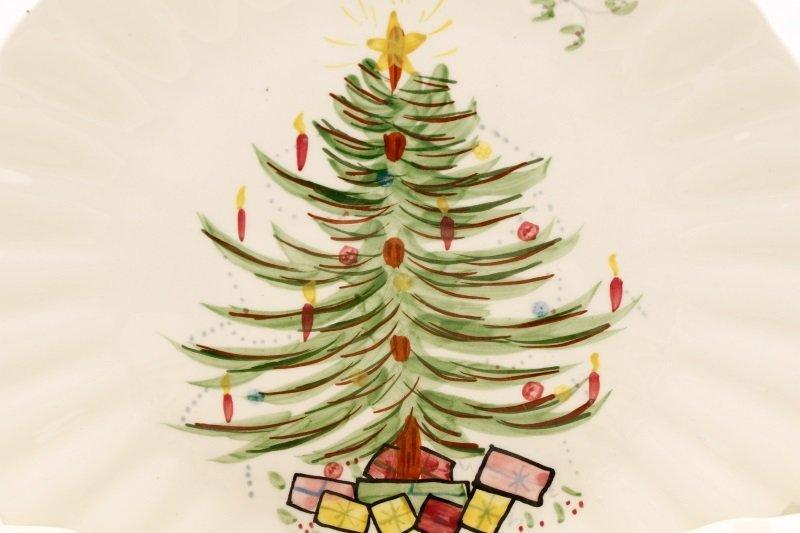 39 PCS Blue Ridge Christmas Tree Mistletoe Pattern - 2