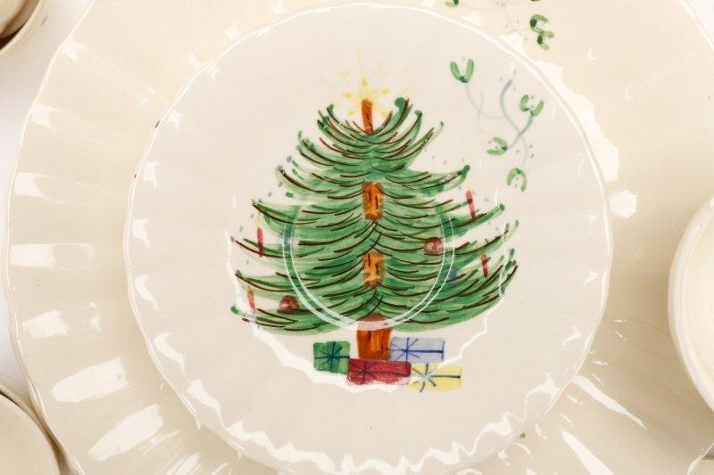 39 PCS Blue Ridge Christmas Tree Mistletoe Pattern - 3