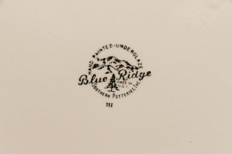 39 PCS Blue Ridge Christmas Tree Mistletoe Pattern - 7
