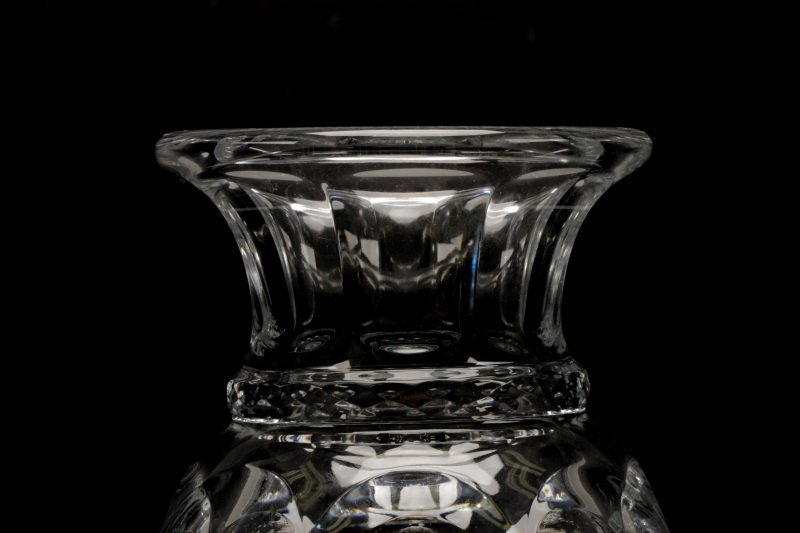 Baccarat Footed Urn Form Crystal Vase - 2
