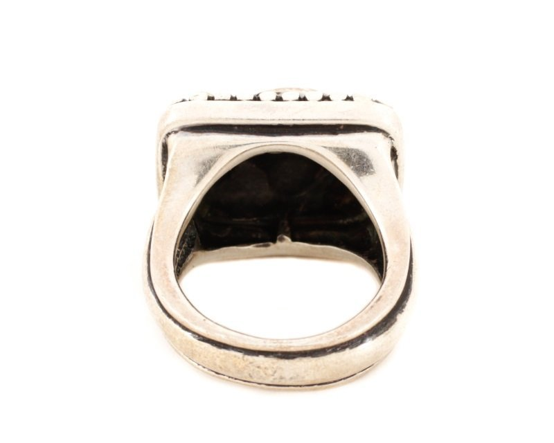 Kieselstein-Cord Fish Motif Sterling Ring - 3