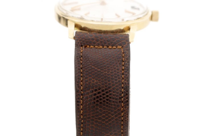 Tiffany & Co. Gent's Watch w/ Brown Lizard Band - 2