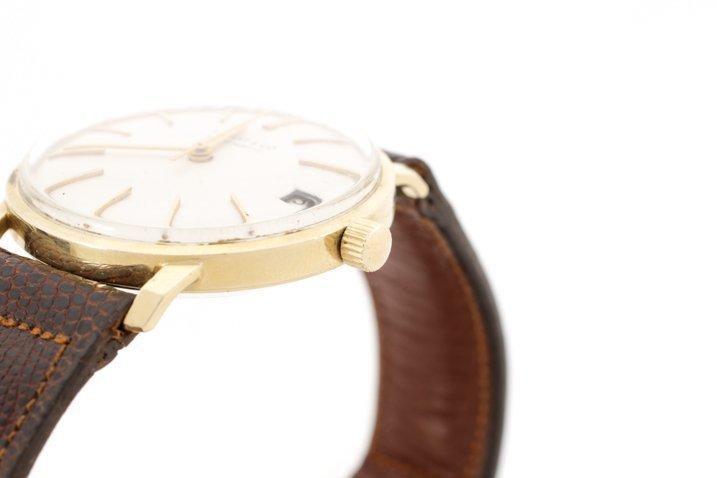 Tiffany & Co. Gent's Watch w/ Brown Lizard Band - 3