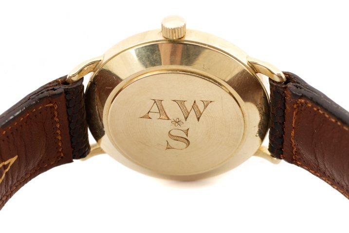 Tiffany & Co. Gent's Watch w/ Brown Lizard Band - 4