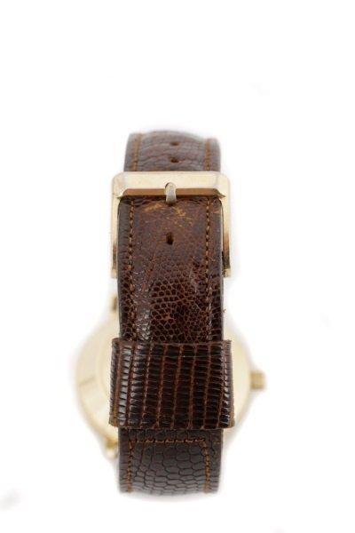 Tiffany & Co. Gent's Watch w/ Brown Lizard Band - 7