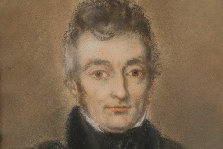 Early 19th Century, Boston School, Pastel Portrait - 2