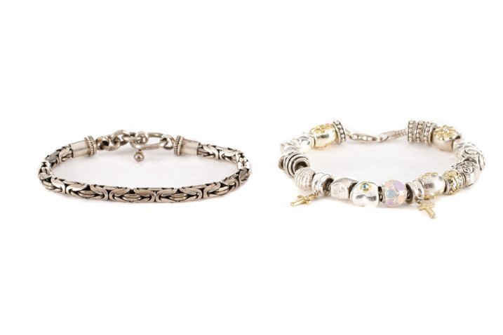 Collection of Sterling Silver Bracelets