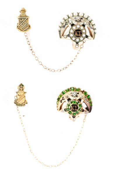 Collection of Kappa Sigma Fraternity Pins