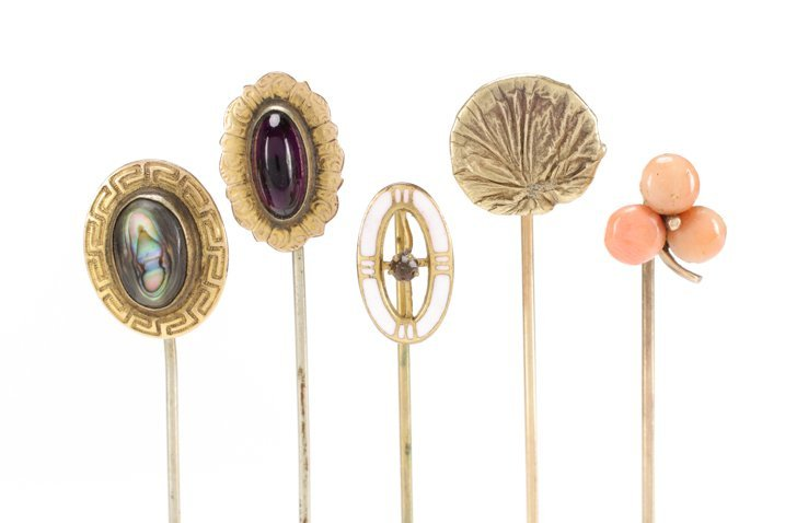 Assembled Collection of Victorian Hat Pins