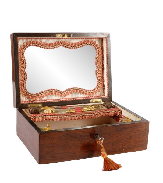 19th Century French Necessaire or Sewing Box