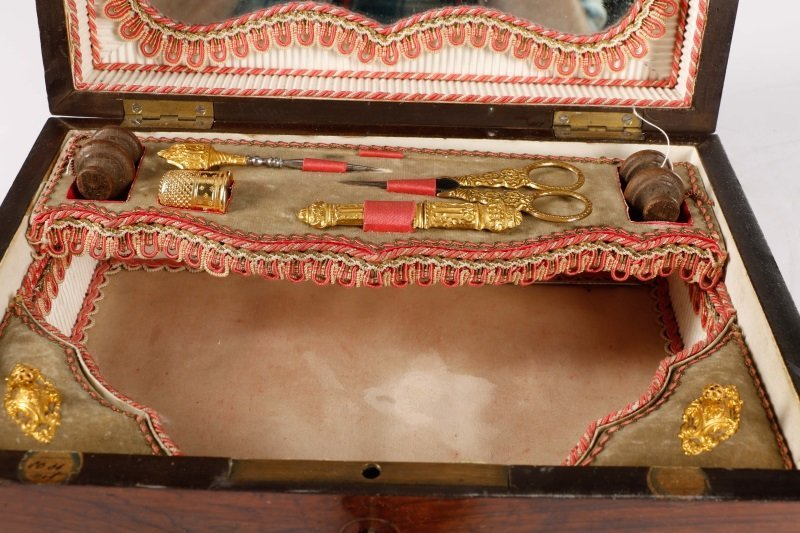 19th Century French Necessaire or Sewing Box - 3