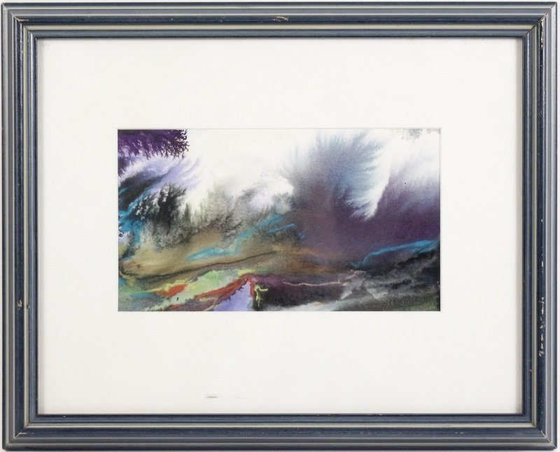 """Marsh Study"", Gouache & Pastel, Joanne Currah"
