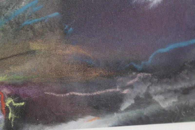 """Marsh Study"", Gouache & Pastel, Joanne Currah - 4"