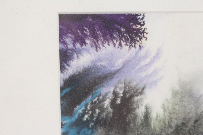 """Marsh Study"", Gouache & Pastel, Joanne Currah - 5"